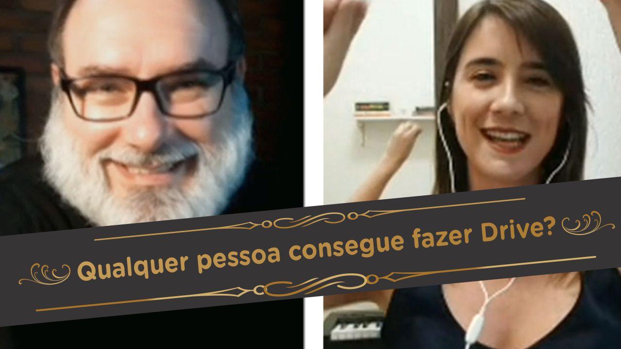 Qualquer pessoa consegue fazer DRIVE? | Live com Ariel Coelho