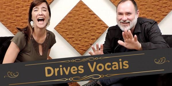 Drives Vocais - Pra Cantar - Miniaturas personalizadas